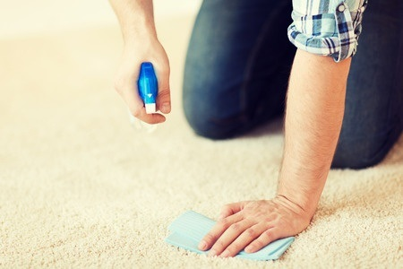 Cleaning Blood from Carpet
