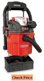 Craftsman Remote Control Wall Mount 5 Peak HP 5 Gal Wet and Dry Vacuum