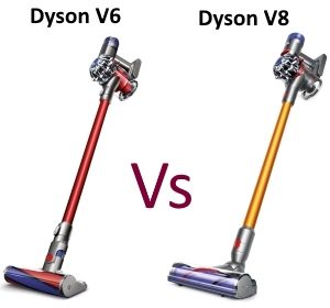 dyson v8 vs dyson v6 which vacuum is best appliance guide. Black Bedroom Furniture Sets. Home Design Ideas