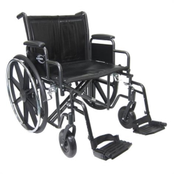 Karman Healthcare Extra Wide Heavy Duty Bariatric Wheelchair
