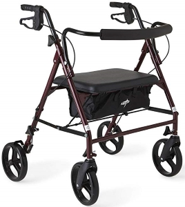 Medline Heavy Duty Bariatric Mobility Rollator