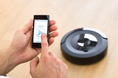 Robot Vacuum Controlled by Mobile Phone