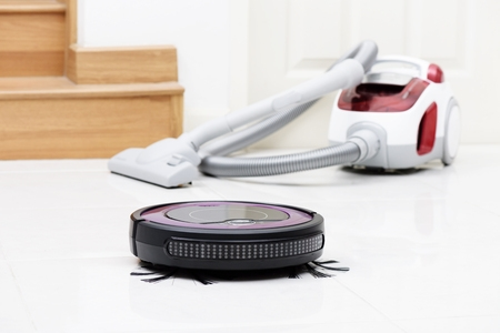 Robot Vacuum and Canister Vacuum