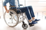 Using wheelchair indoors