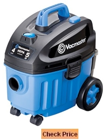 Vacmaster 4 Gallon Wet Dry Floor Vacuum, VF408