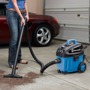 Vacmaster 4 Gallon Wet Dry Floor Vacuum VF408