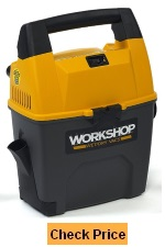 WORKSHOP WS0301VA Portable Wet Dry Shop Vacuum for Auto