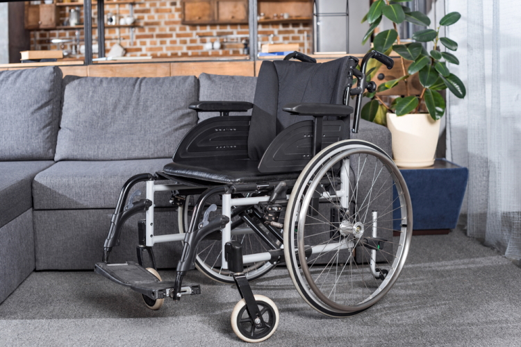 Wheelchair in Home